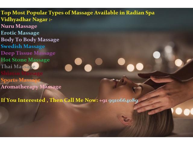 Female to Male Full Body to Body Massage in Vidhyadhar Nagar, Best Massage Spa Near Me