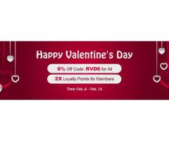 Come to RSorder to Acquire RSGold with 6% Discount for Valentine's Day