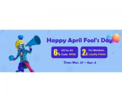 RSorder April Fool's Day Event with 6% Off RuneScape Gold Provided Tomorrow