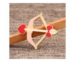 Cupid's Arrow Lapel Pins