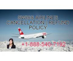 Swiss Airlines Cancellations | Refund Policy
