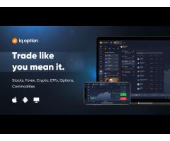 Forex, Trading, Stocks, Profit With IQ Option