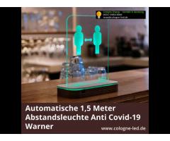 Automatische 1,5 Meter Abstandsleuchte Anti Covid-19 Warner