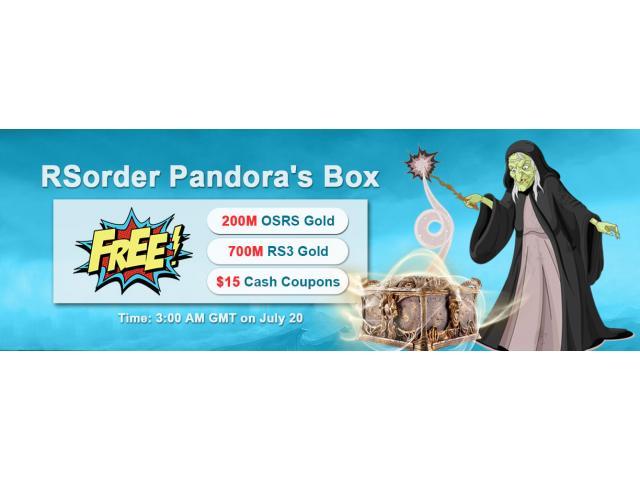 Find RSorder Hidden Codes to Win Free RuneScape Gold & $15 Voucher July 20