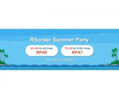RSorder Summer Party Active Now with 7% Off for Cheap RuneScape Gold Offered