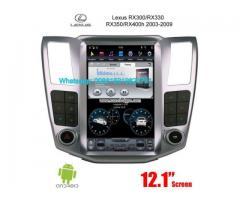 LEXUS RX300 330 350 400h Tesla Car Radio Android GPS Camera