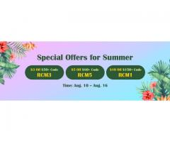 Summer Special Offers: Up to $10 Voucher for RS07 Gold & More to Acquire on RSorder