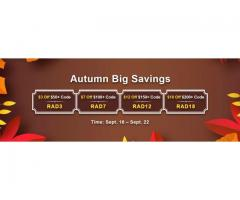 Use Voucher to Snap up $18 Off Runescape 2007 Gold from RSorder Autumn Big Savings
