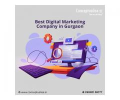 Best Digital Marketing Company in Gurgaon- Conceptualise