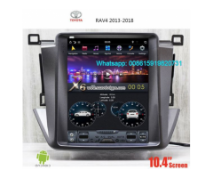 TOYOTA RAV4 2013-2018 Tesla Android Radio GPS Vertical Screen