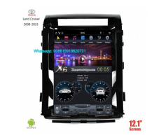 TOYOTA Land Cruiser Vertical Tesla Android Radio GPS Navigation