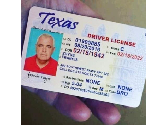>Buy UK drivers license online