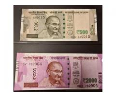 Best Area To Buy 500's and 2000's Indian Rupees Money