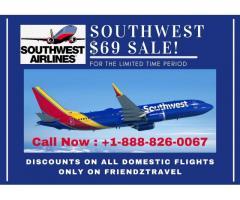 Southwest Flight Sale $69