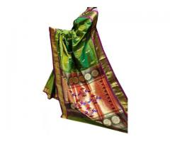 Buy 100+ exclusive varieties of Pathani saree collection online.