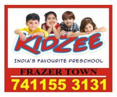 Play School Admission Started Now |Kidzee Frazer Town | 1813 |