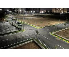 Fully fenced plotted layouts for sale in Bangalore