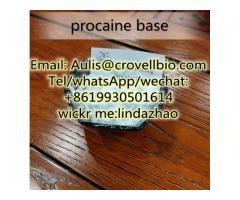 High quality procaine /  CAS No.: 59-46-1 /  buy procaine China supplies / +86 19930501614