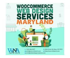 Custom WooCommerce web design Services in Maryland