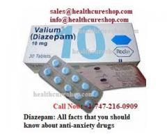 Diazepam for sale : Understanding Valium To Treat Anxiety