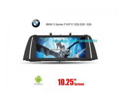 BMW 5 Series F10 F11 F18 Android Autoradio Navigation
