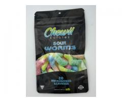 Buy Chewii – SOUR Worms 100mg online