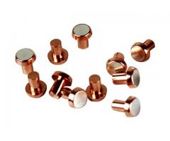 Bimetal Contact Manufacturer Company in India    R.S Electro Alloy