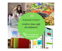 On-Demand Grocery Delivery Script | Grofers App Development | Turnkeytown
