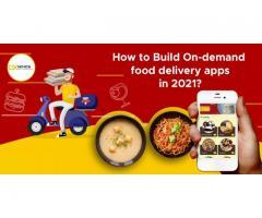 Ondemand food delivery apps   DxMinds