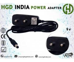 9V DTH Set top Box Power Supply Adapter Manufacturers in Delhi NCR | HGD INDIA