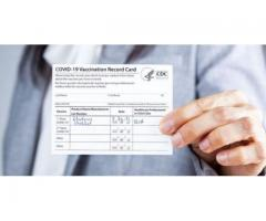 Covid-19 Vaccine card & Passport Available for all Countries.