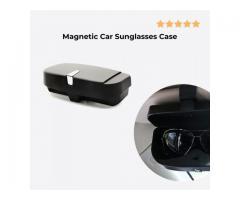 Magnetic Car Sunglasses Case