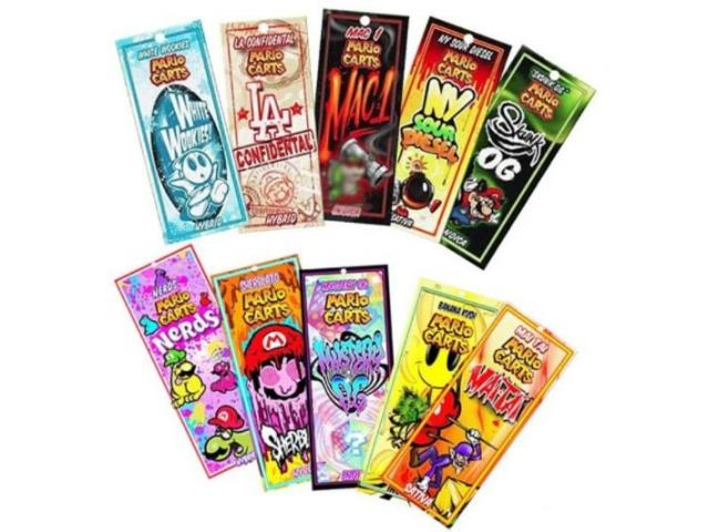 Mario Cart Flavors
