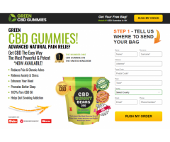 Green CBD Gummies Bears UK Reviews!