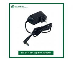 12V DTH Set top Box Adapter Manufacturers in Delhi NCR | HGD INDIA